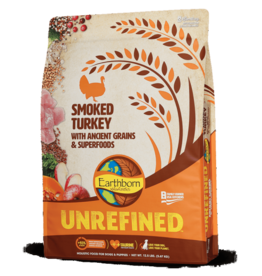 EARTHBORN EARTHBORN DOG UNREFINED ANCIENT GRAINS SMOKED TURKEY 12.5LBS