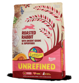 EARTHBORN EARTHBORN DOG UNREFINED ANCIENT GRAINS ROASTED RABBIT 12.5LBS
