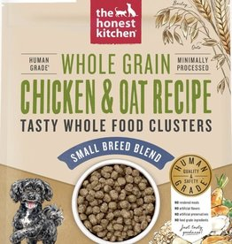 THE HONEST KITCHEN HONEST KITCHEN DOG CLUSTERS SMALL BREED WHOLE GRAIN CHICKEN 1LB