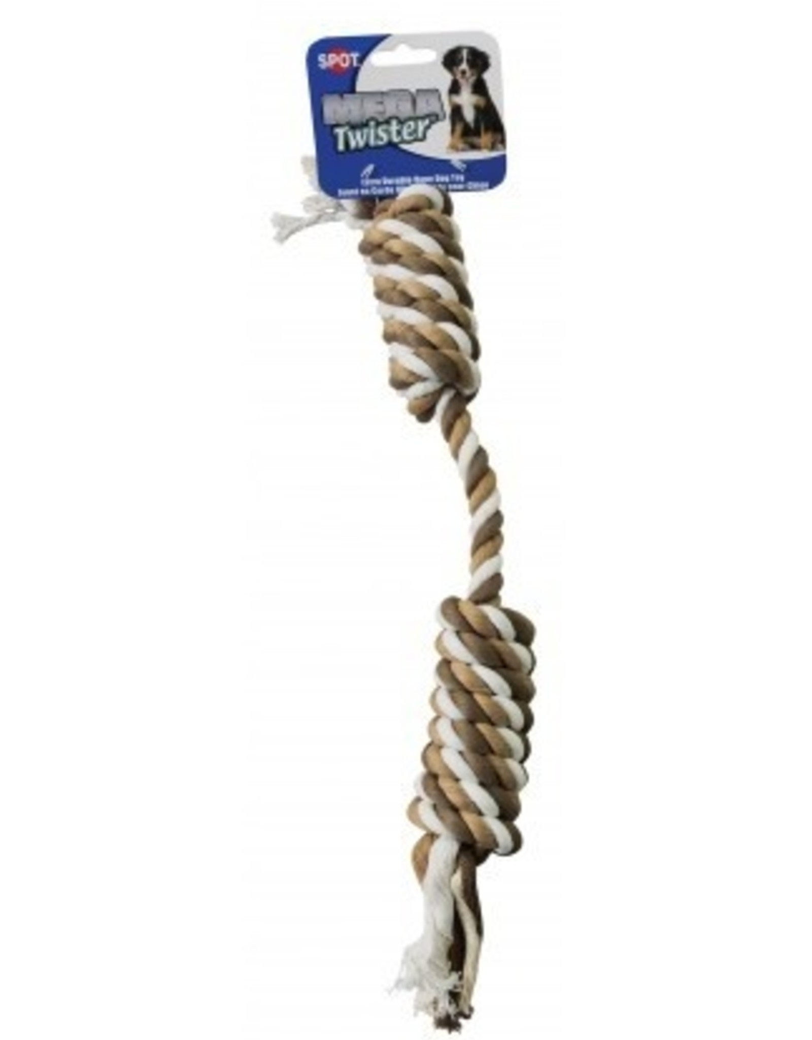 ETHICAL PRODUCTS, INC. DOG TOY HEAVY DOUBLE TWIST ROPE