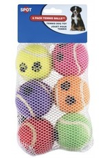 ETHICAL PRODUCTS, INC. DOG TOY TENNIS BALLS 6PK 4262