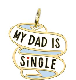 PRIMITIVES BY KATHY PET CHARM - DAD IS SINGLE