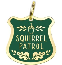 PRIMITIVES BY KATHY PET CHARM - SQUIRREL PATROL