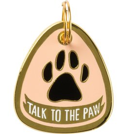 PRIMITIVES BY KATHY PET CHARM - TALK TO THE PAW