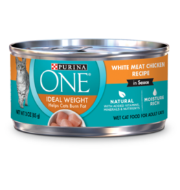 ONE CAT IDEAL WEIGHT CHICKEN 3OZ CAN