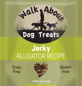 WALK ABOUT ALLIGATOR DOG JERKY 5.5OZ