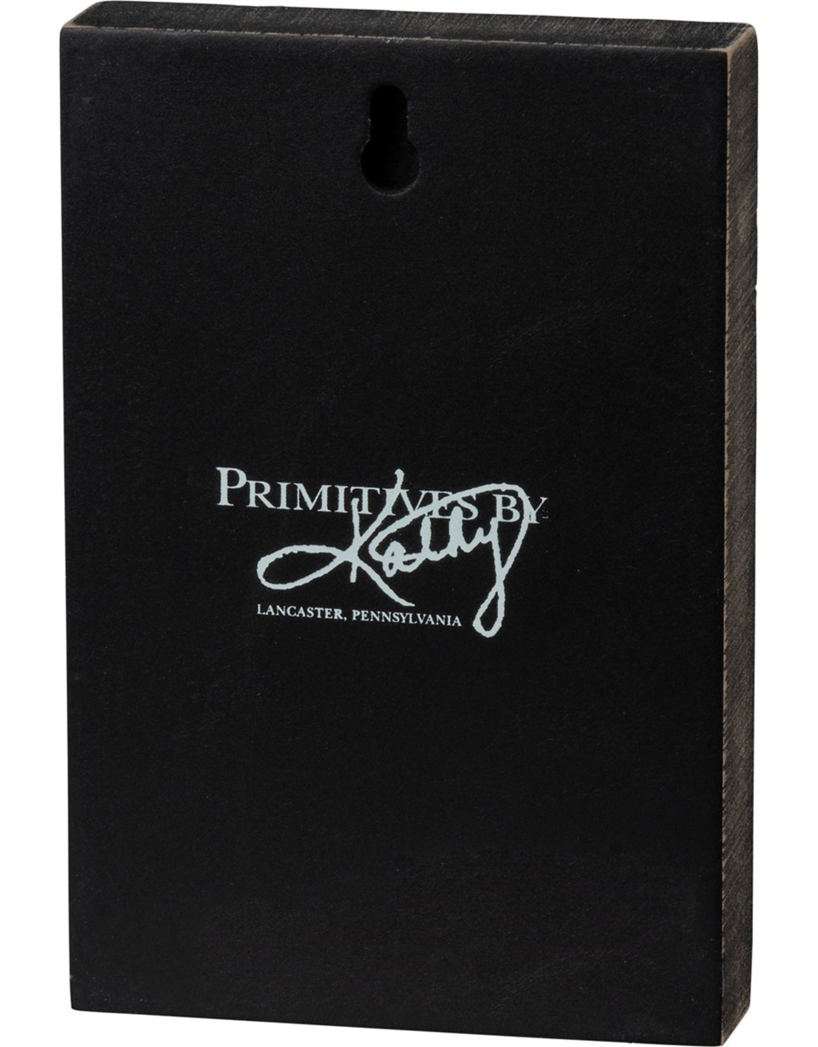 PRIMITIVES BY KATHY BLOCK SIGN - CAT HAIR