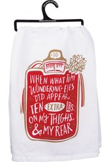 PRIMITIVES BY KATHY DISH TOWEL - WHAT TO MY