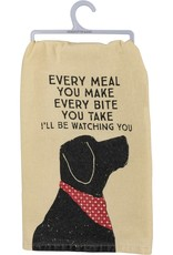PRIMITIVES BY KATHY DISH TOWEL - BE WATCHING YOU