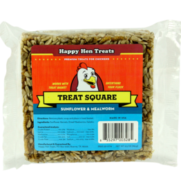 DURVET - HAPPY HEN    D HAPPY HEN TREAT SQUARE SUNFLOWER & MEALWORM