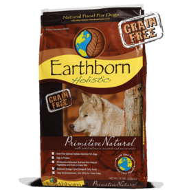 EARTHBORN EARTHBORN HOLISTIC DOG PRIMITIVE NATURAL 5LBS