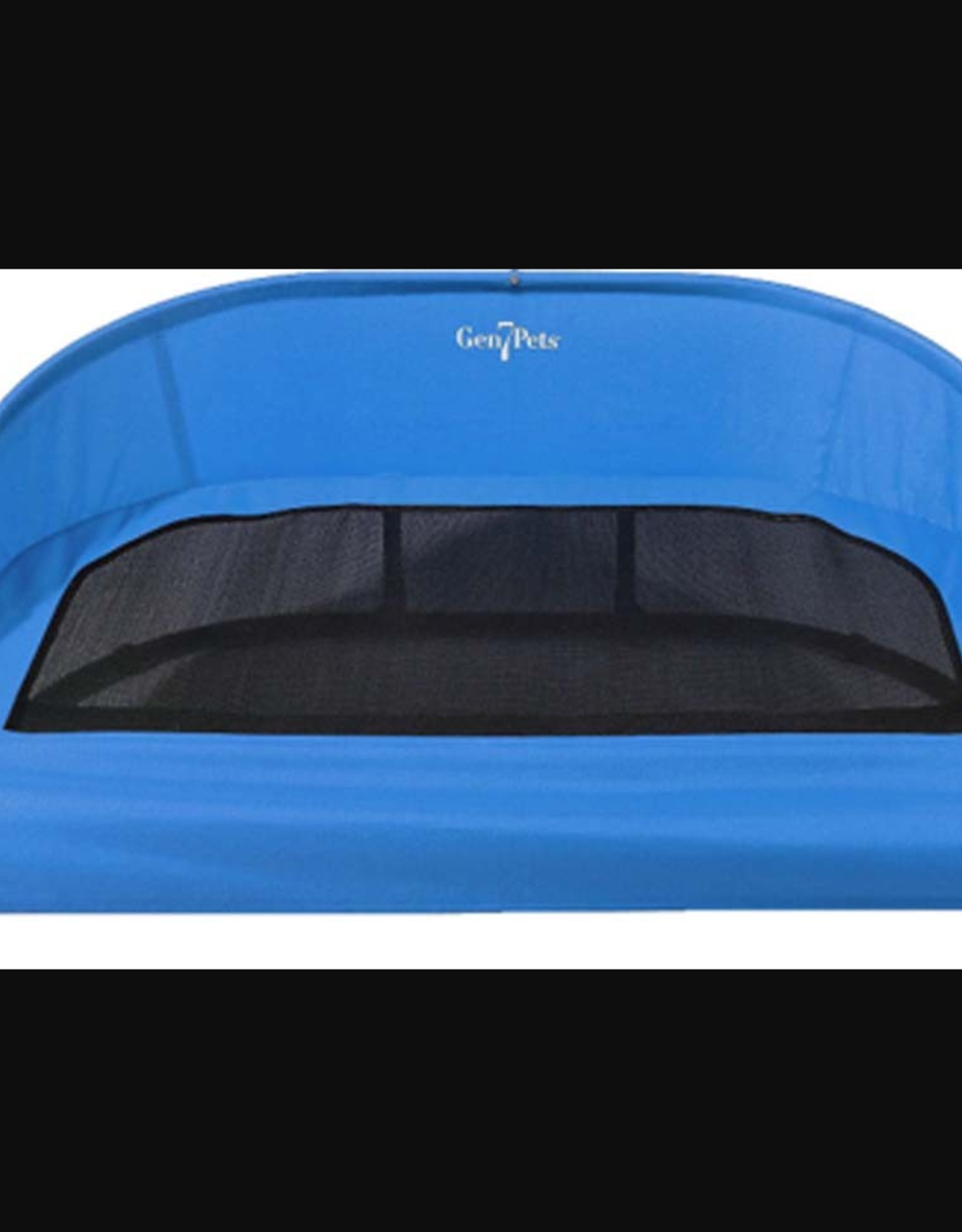 DOSKOCIL MFG CO INC GEN7PETS COOL-AIR COT TRAILBLAZER BLUE MEDIUM