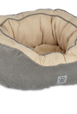 PRECISION PET PRODUCTS PRECISION PET GUSSET DAYDREAMER - GREY 21X19X9.5