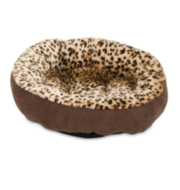 DOSKOCIL MANUFACTURING CO ROUND BOLSTER ANIMAL PRINT 18IN
