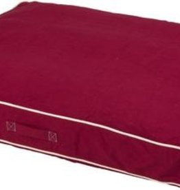 DOG GONE SMART BED CO. DGS CANVAS RECTANGLE BED RED 40X52