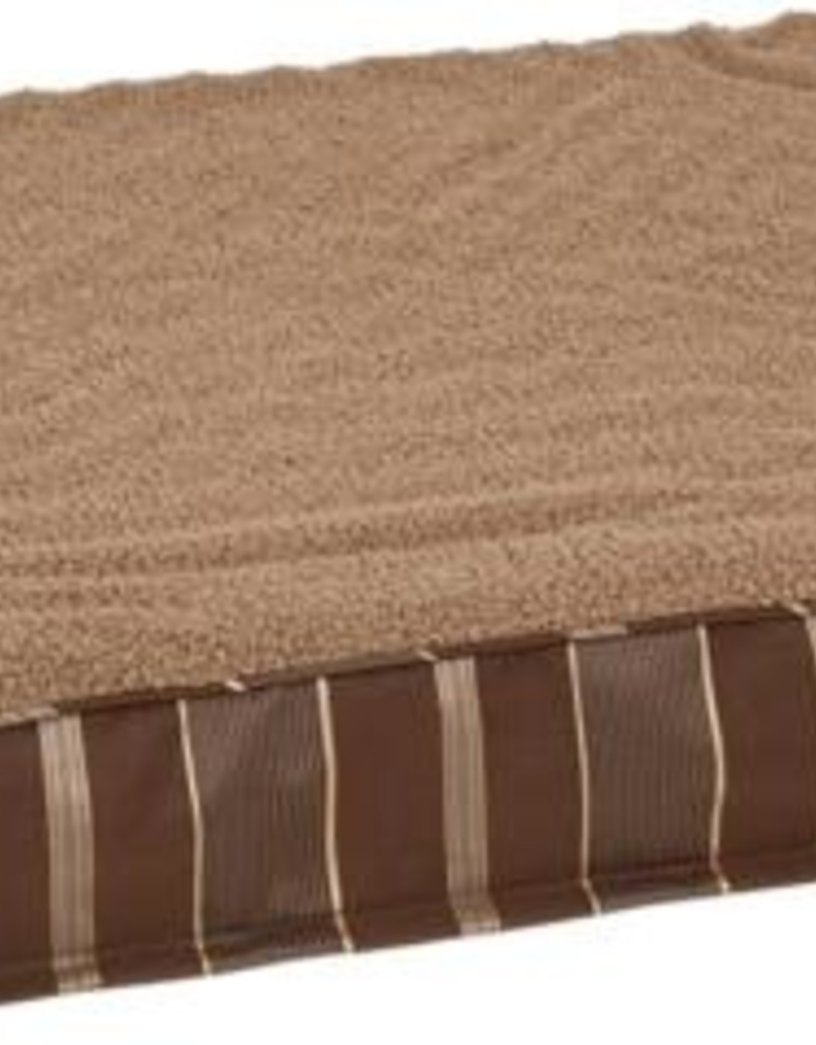 DOSKOCIL MANUFACTURING CO PETMATE DOUBLE ORTHO BED BROWN 30X40