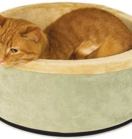 K&H PET PRODUCTS, LLC K&H THERMO-KITTY BED SAGE 16IN