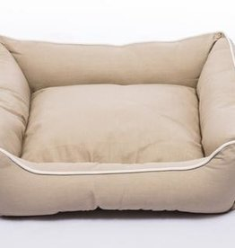 DOG GONE SMART BED CO. DGS LOUNGER BED KHAKI 22x20