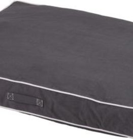 DOG GONE SMART BED CO. DGS RECTANGLE/SHERPA BED BLUE 26X34