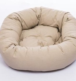 DOG GONE SMART BED CO. DGS ROUND BED KHAKI 36IN