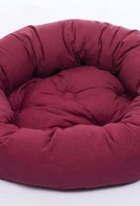 DOG GONE SMART BED CO. DGS ROUND BED RED 42IN