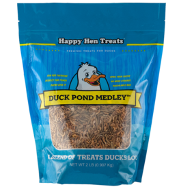 DURVET - HAPPY HEN    D HAPPY HEN TREAT DUCK POND MEDLEY 2LB