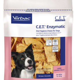 C.E.T. VIRBAC C.E.T.® ENZYMATIC CHEWS LARGE 30CT