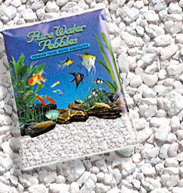 WORLD WIDE IMPORTS, ENT.INC PURE WATER PEBBLES SNOW WHITE 5LBS