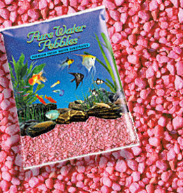 WORLD WIDE IMPORTS, ENT.INC PURE WATER PEBBLES NEON PINK 5LBS