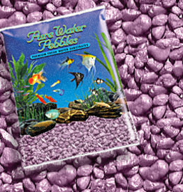 WORLD WIDE IMPORTS, ENT.INC PURE WATER PEBBLES LAVENDER FROST 5LBS