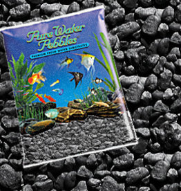 WORLD WIDE IMPORTS, ENT.INC PURE WATER PEBBLES JET BLACK 5LBS