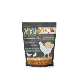DAVEMATSCHICKEN STUFF THE HONEST WORM! FREEZE DRIED MEALWORMS 70Z