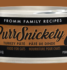 FROMM FAMILY FOODS LLC FROMM CAT PURRSNICKETY TURKEY 5.5OZ CASE OF 12