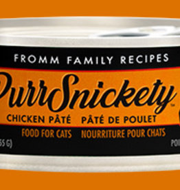 FROMM FAMILY FOODS LLC FROMM CAT PURRSNICKETY CHICKEN 5.5OZ