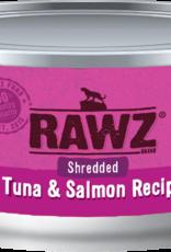RAWZ RAWZ CAT SHREDDED TUNA & SALMON 3OZ CASE OF 18