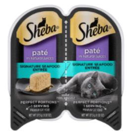 MARS PET CARE SHEBA PERFECT PORTIONS SEAFOOD CUTS 2.6OZ CASE OF 24