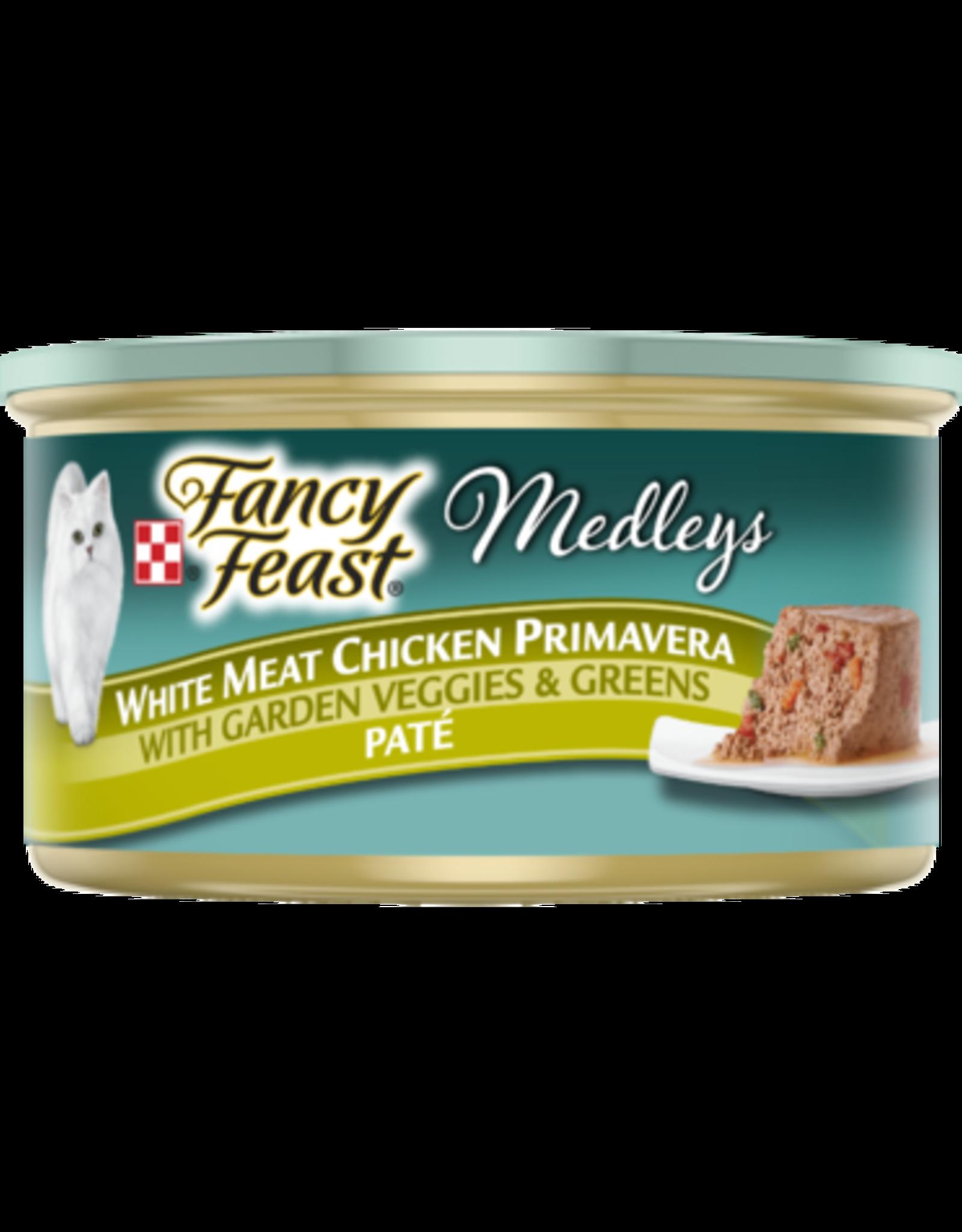 FANCY FEAST MEDLEYS CHICKEN PRIMAVERA PATE 3OZ CASE OF 24