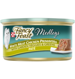FANCY FEAST MEDLEYS CHICKEN PRIMAVERA PATE 3OZ CASE OF 24
