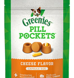 GREENIES GREENIES PILL POCKETS DOG CHEESE CAPSULE 7.9OZ