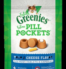 GREENIES GREENIES PILL POCKETS CAT TUNA & CHEESE 1.6OZ