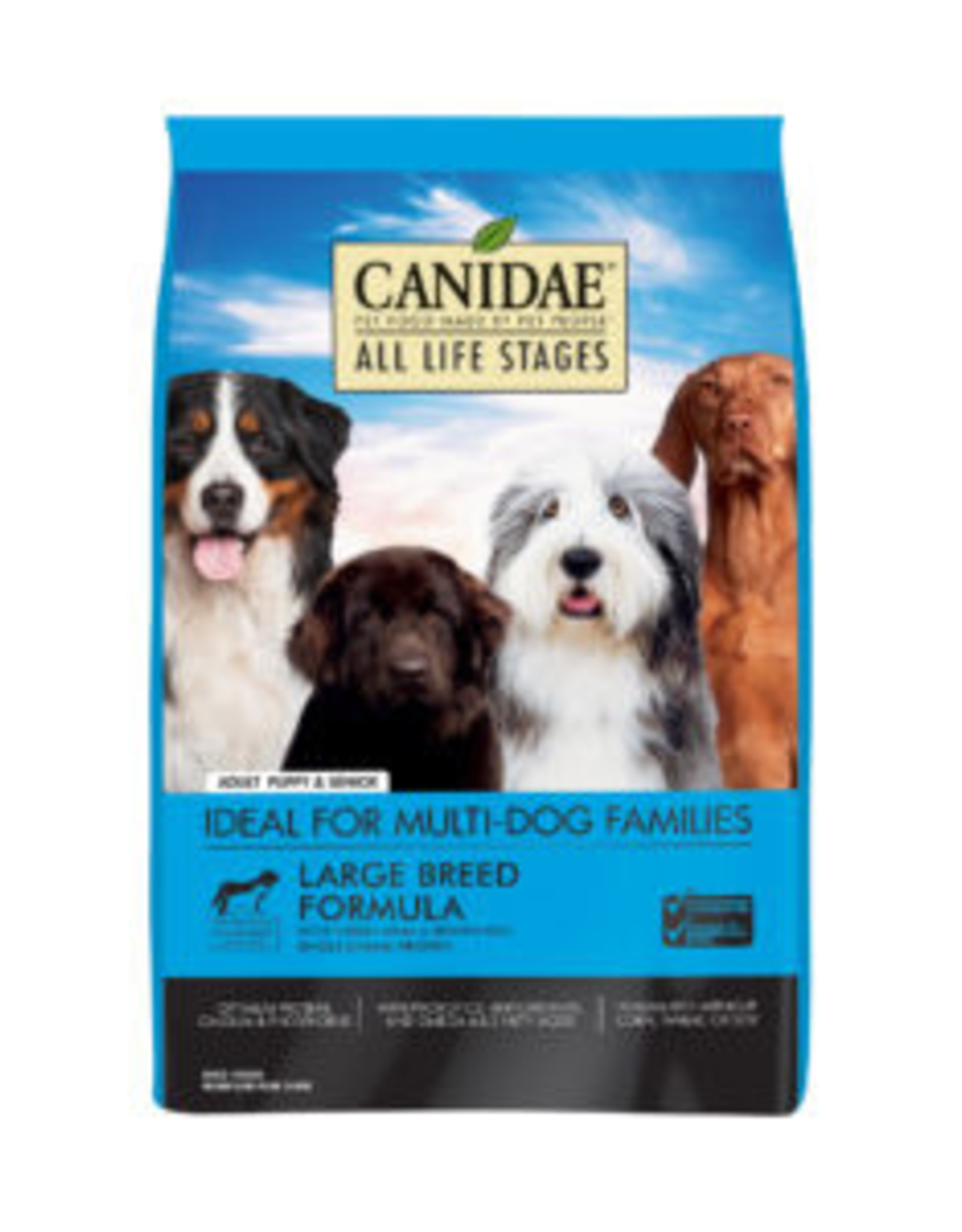 CANIDAE PET FOODS CANIDAE DOG LARGE BREED ADULT TURKEY & RICE 44LBS