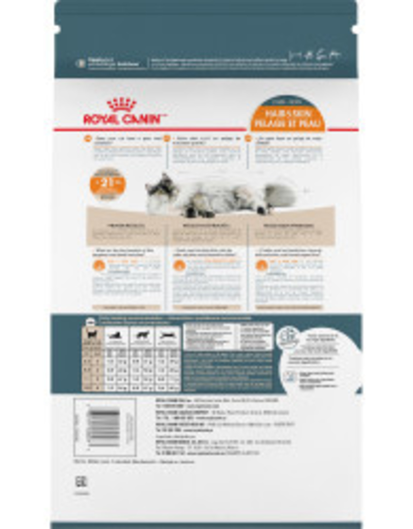 ROYAL CANIN ROYAL CANIN CAT HAIR & SKIN 3.5LBS