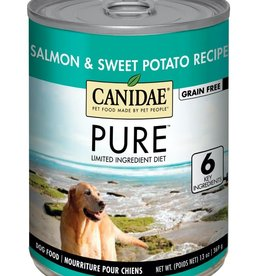CANIDAE PET FOODS CANIDAE DOG CAN PURE SEA SALMON & SWEET POTATO 13OZ CASE OF 12
