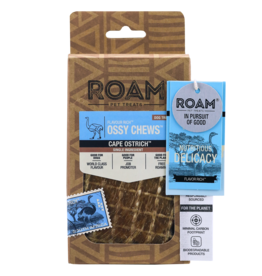 ROAM OSSY TENDON CHEW OSTRICH 3OZ