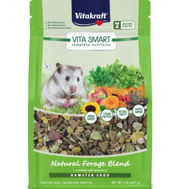 VITAKRAFT VITA SMART NATURAL FORAGE HAMSTER FOOD 2LBS
