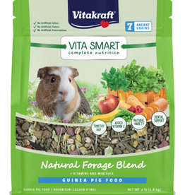 VITAKRAFT VITA SMART NATURAL FORAGE GUINEA PIG FOOD 4LBS