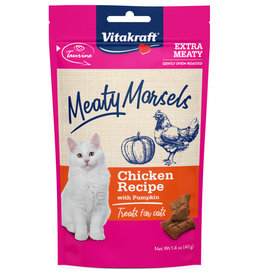 VITAKRAFT SUN SEED, INC. VITAKRAFT CAT MEATY MORSELS CHICKEN & PUMPKIN 1.4OZ