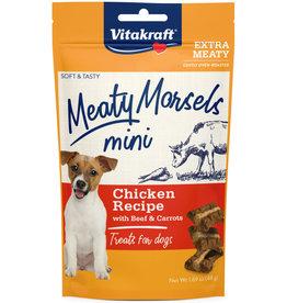 VITAKRAFT DOG MEATY MORSELS MINI BEEF & CARROTS