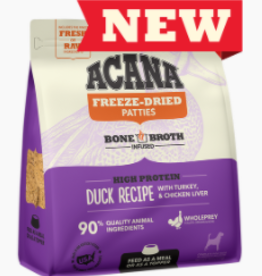 CHAMPION PET FOOD ACANA FREEZE DRIED DUCK PATTIES 14OZ