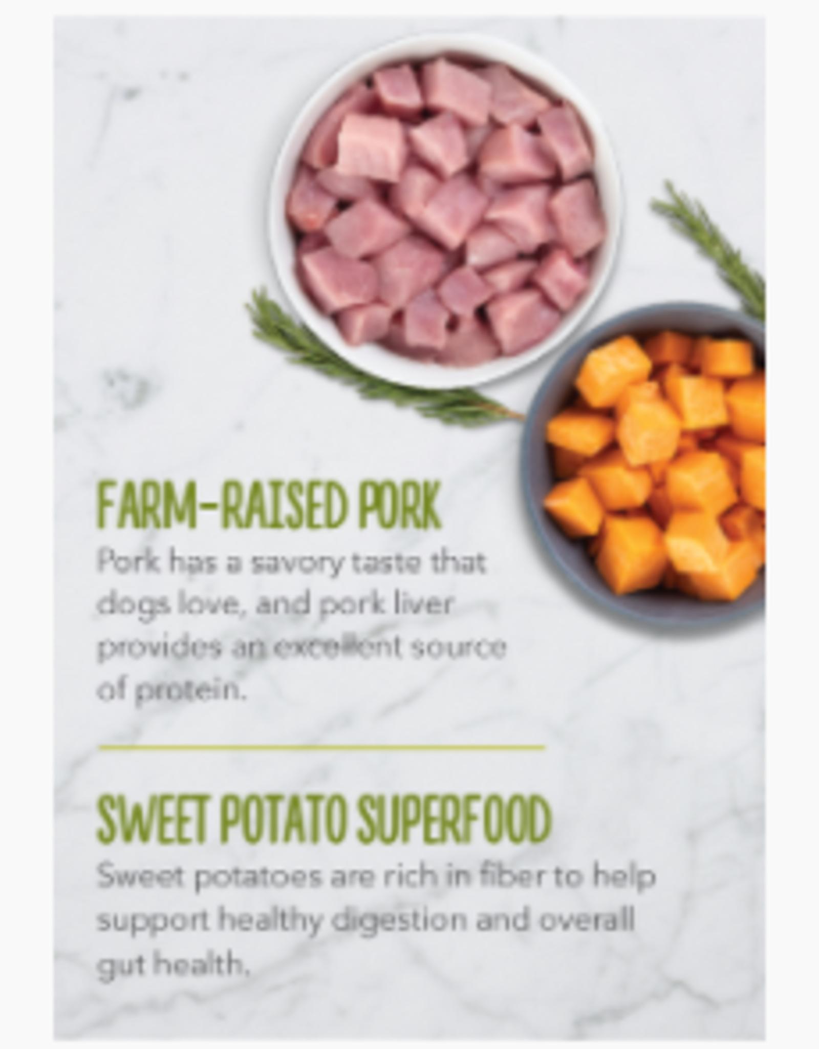 CHAMPION PET FOOD ACANA HIGH PROTEIN BISCUIT CRUNCHY PORK LIVER LARGE 9OZ